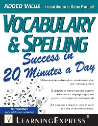 Cover Vocabulary & Spelling Success in 20 Minutes a Day