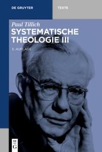Cover Systematische Theologie III