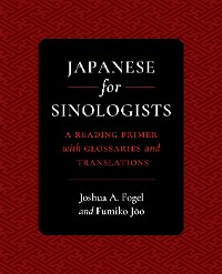 Cover Japanese for Sinologists