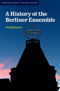 Cover History of the Berliner Ensemble