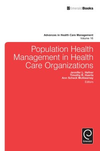 Cover Population Health Management in Health Care Organizations