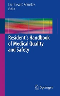 Cover Resident's Handbook of Medical Quality and Safety