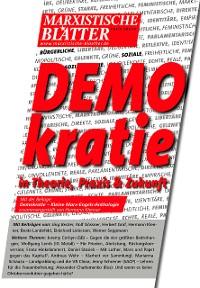 Cover DEMOKRATIE in Theorie, Praxis und Zukunft