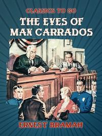 Cover The Eyes of Max Carrados