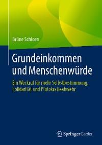 Cover Grundeinkommen und Menschenwürde
