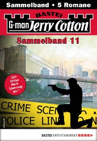 Cover Jerry Cotton Sammelband 11 - Krimi-Serie
