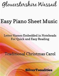 Cover Gloucestershire Wassail Easy Piano Sheet Music