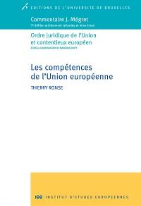 Cover Les compétences de l'Union européenne