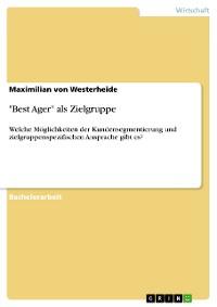 """Cover """"Best Ager"""" als Zielgruppe"""