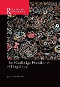 Cover Routledge Handbook of Linguistics