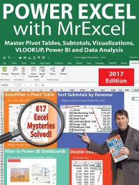 Cover Power Excel 2016 with MrExcel