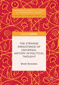 Cover The Strange Persistence of Universal History in Political Thought