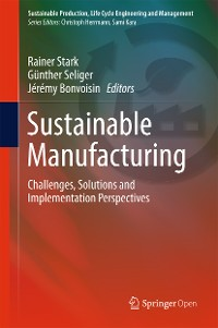 Cover Sustainable Manufacturing