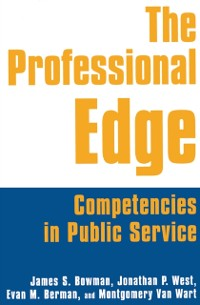 Cover Professional Edge: Competencies in Public Service