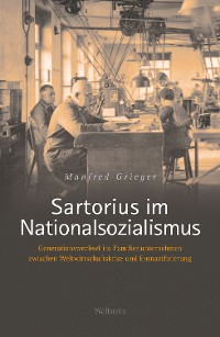 Cover Sartorius im Nationalsozialismus