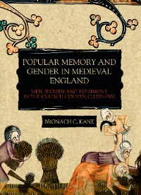 Cover Popular Memory and Gender in Medieval England