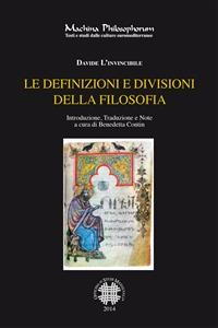 Cover Le definizioni e divisioni della filosofia
