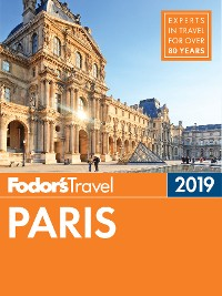 Cover Fodor's Paris 2019