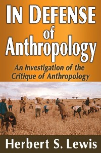 Cover In Defense of Anthropology