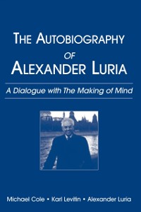 Cover Autobiography of Alexander Luria