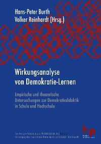 Cover Wirkungsanalyse von Demokratie-Lernen