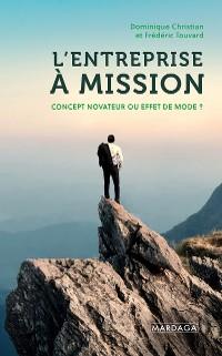 Cover L'entreprise à mission
