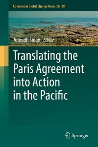 Cover Translating the Paris Agreement into Action in the Pacific