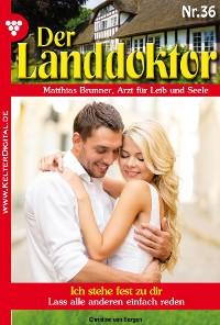 Cover Der Landdoktor 36 – Arztroman