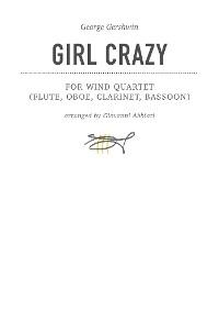 Cover George Gershwin Girl Crazy for wind quartet