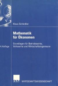 Cover Mathematik fur Okonomen