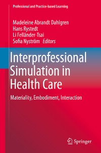 Cover Interprofessional Simulation in Health Care