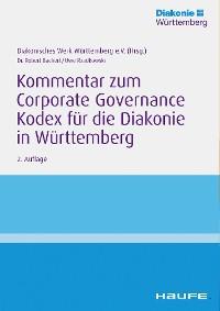 Cover Kommentar zum Corporate Governance Kodex für die Diakonie in Württemberg