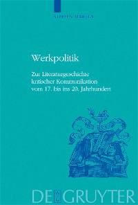 Cover Werkpolitik
