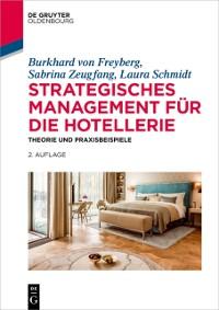 Cover Strategisches Management fur die Hotellerie