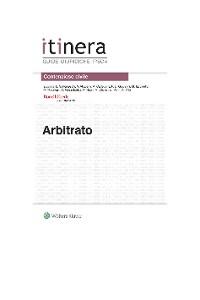 Cover Arbitrato