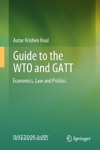 Cover Guide to the WTO and GATT