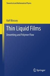 Cover Thin Liquid Films