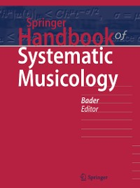 Cover Springer Handbook of Systematic Musicology
