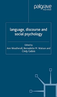 Cover Language, Discourse and Social Psychology