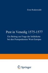 Cover Pest in Venedig 1575-1577