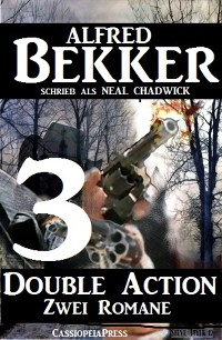 Cover Double Action 3 - Zwei Romane