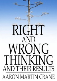 Cover Right And Wrong Thinking and Their Results