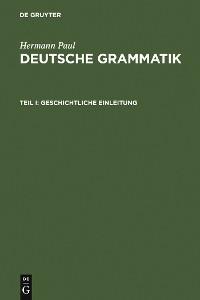 Cover Deutsche Grammatik
