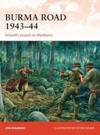 Cover Burma Road 1943 44