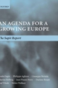 Cover Agenda for a Growing Europe