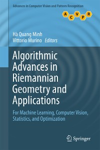 Cover Algorithmic Advances in Riemannian Geometry and Applications