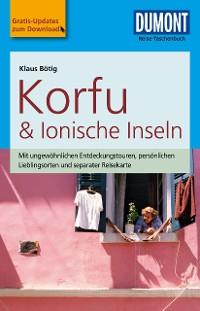 Cover DuMont Reise-Taschenbuch Reiseführer Korfu & Ionische Inseln