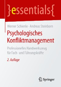 Cover Psychologisches Konfliktmanagement