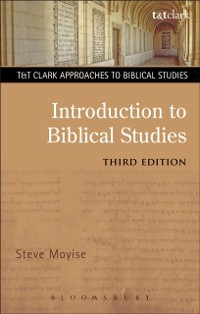 Cover Introduction to Biblical Studies