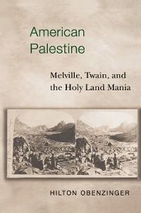 Cover American Palestine
